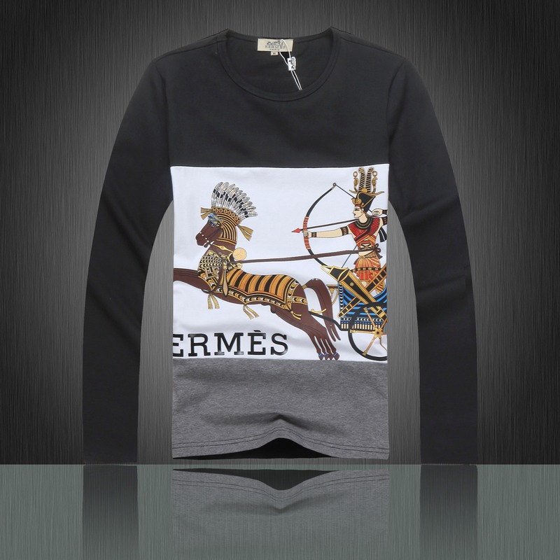 hermes t-shirt homme manches longues