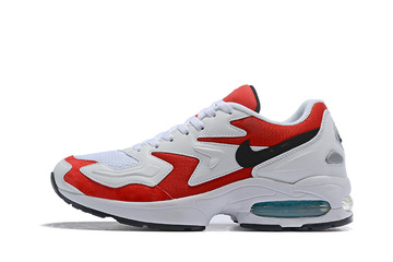 2018 nike air max 2  white red