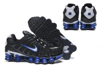 baskets nike shox tl3 man speed black and blue