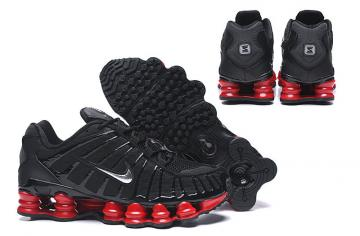 baskets nike shox tl3 man speed black and red