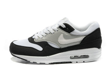 baskets chaussures 87 nike air max 1 oreo net add cuir