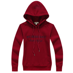 burberry sweat zippe a capuche donna PREZZO BASSO embroidered london england red