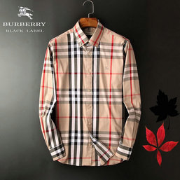 chemise burberry coton uomo new style 2018N chemise courtes grille ... b693968b696
