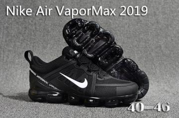 latest nike air vapormax 2019 sneakers black white von [Nike