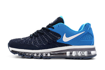 men nike air max 120 running shoes different blue