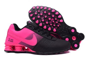 nike shox enigma baskets pour women deliver  pink red