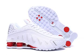 nike shox enigma baskets pour women shw r4 electric embroidery white red