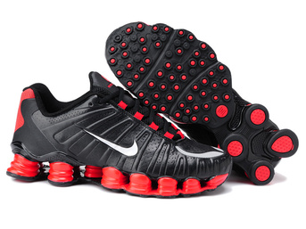 nike shox tlx 2018N basket-ball homme sport pas cher noir rouge