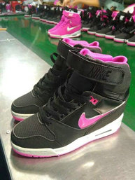 hot sales 7bac7 99f0a nike wmns nike air revolution sky hi rose noir