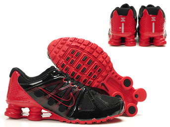 cheap nike shox agent rivaly noir rouge man shoes
