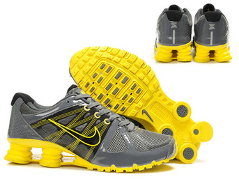 nike shox agent+ discount scarpe uomo mm fly wire gris jaune