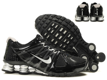 nike shox agent+ discount scarpe uomo mm fly wire noir argent