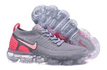 officielle fabrique nike air vapormax femme 942843-006 gray orange