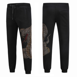 philipp plein pants  luxe trousers  snake