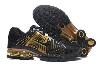 wholesale 2018 air shox 625 mens running shoes black gold