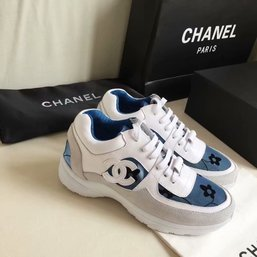 chanel vintage women shoes red blue flower von  CHANEL chaussures ... 21fac952d7f
