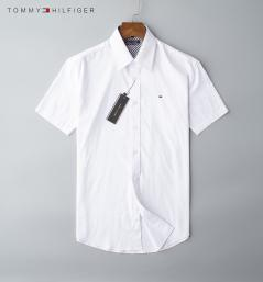 chemise tommy hilfiger garcon pas cher short white