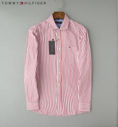 chemise tommy hilfiger garcon pas cher strip red