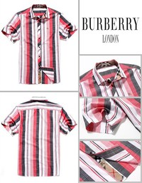 28.90EUR, chemises burberry short sleeve uomo 2018N populaire five by0005  red london 732159d3017