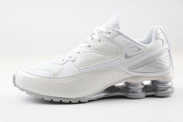 man nike shox enigma casual shoes bq9001 003 white