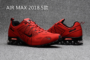 man nike air max 2017 sneakers red fire