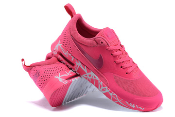 prix compétitif 1b202 0b729 donna nike air max thea baskets run top rouge von [Nike Air ...