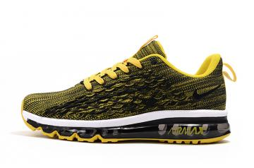 nike air max 2017 homme good quality fish scale yellow