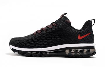 nike air max 2017 homme good quality black red brown fish scale