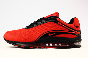nike air max deluxe pas cher 1999 rouge noir