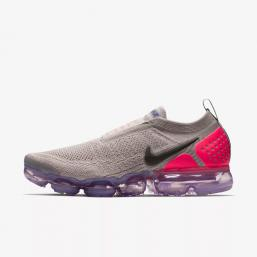 nike air vapormax run utility flyknit 2 gray red