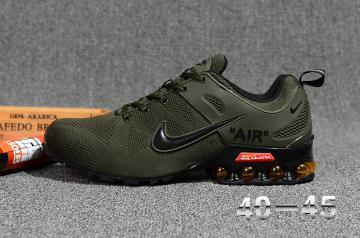 nike nz shox promo army green