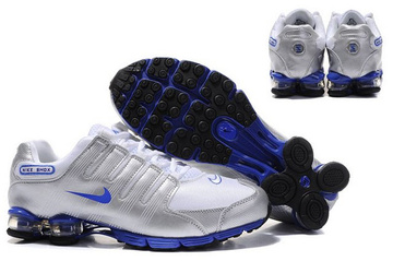 cheap nike shox r4 man rivaly r5903 argent pas cher bleu-taille 41-46