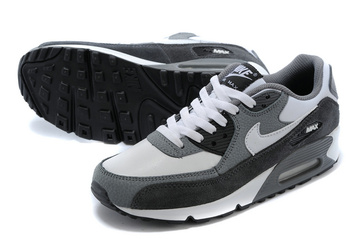 nouveau women nike air max 90 essential baskets style gray