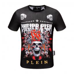 philipp plein t shirt limited edition 66 indians skull