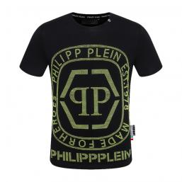 promos et ventes flash t-shirt philipp plein made for heroes