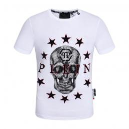 promos et ventes flash t-shirt philipp plein ten star qp