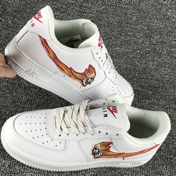 scarpe air force1 low retro ghost fire 823512 100