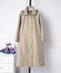 trench burberry pas cher england botton jacket hoodie apricot