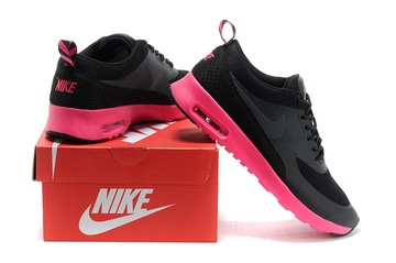 donna nike air max thea baskets run fance noir
