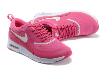 donna nike air max thea baskets run red et blanc