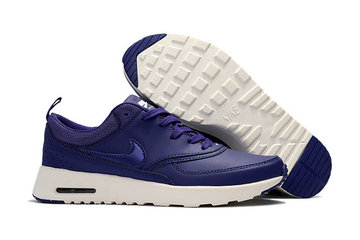 donna nike air max thea 87 baskets navy blue