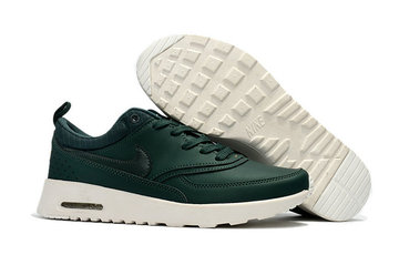 donna nike air max thea 87 baskets classic green