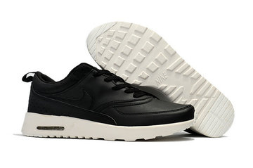 donna nike air max thea 87 baskets leather black