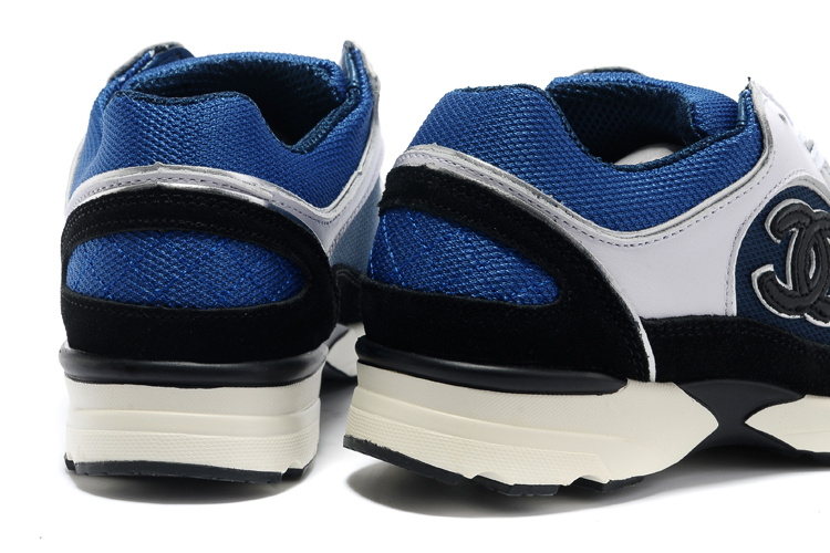 803a8bb7ad6c 20014 chanel sneakers running ladies cc logo sports scarpe sale bleu ...