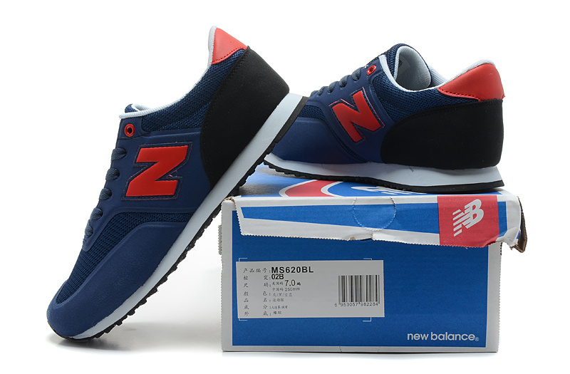 2018N new balance 620 discount sport shoes man london ms620bl navy red