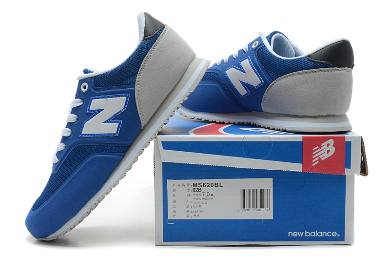 2018N new balance 620 discount sport shoes man london ms620bl blue gray