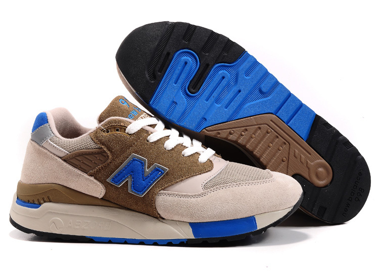 2018N new balance 998 tendance running shoes man france white brown