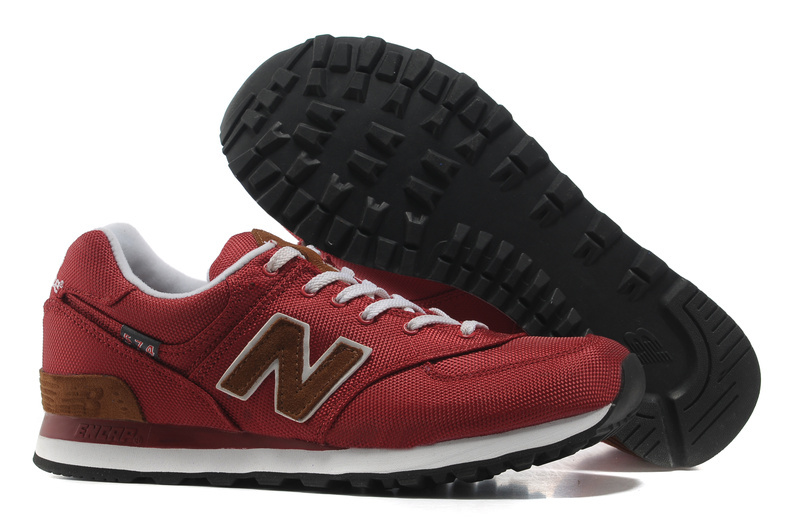 2018N new balance sport new style men women shoes usa ml574bpr red