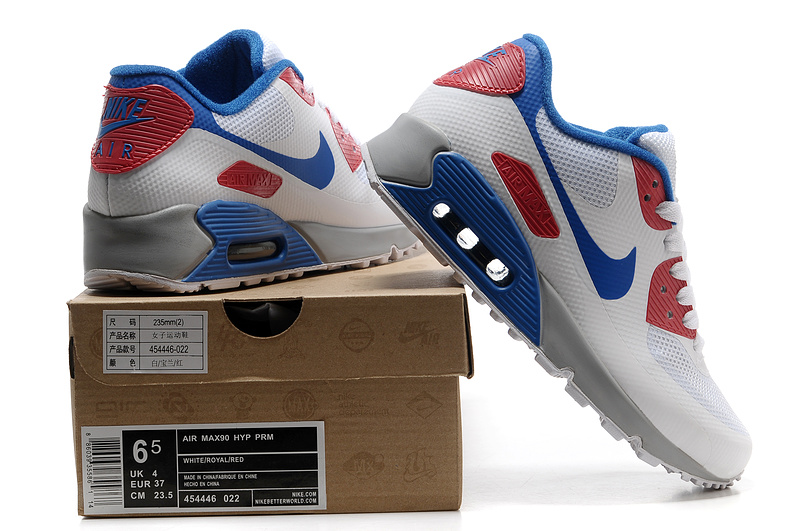 discount nike air max 90 women wholesale pink white blue