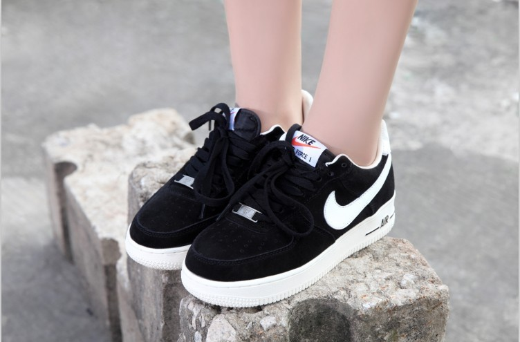 2018N nike air force 1 scarpe basse donna suede voile PREZZO